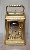 Bell Striking and Repeating and Alarm Gorge Case Carriage Clock (5 of 11)