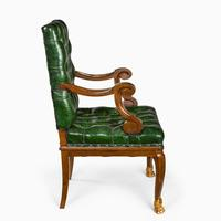A French mahogany desk chair (4 of 6)