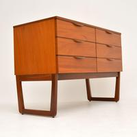 1960's Vintage Mahogany Sideboard / Chest of Drawers (2 of 10)