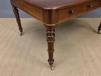 Victorian Period Mahogany Partners Writing Table (11 of 16)