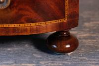 19th Century Mahogany Dressing Table Mirror with Three Drawers (19 of 21)