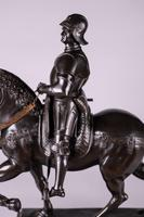 Very Large Stunning 19th Century Equestrian Bronze Sculpture of Bartolomeo Colleoni (2 of 20)