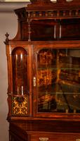 Rosewood Corner Display Cabinet by Gillows (3 of 14)