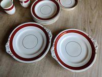 Stylish 22 Piece Coalport Porcelain Coffee Set (4 of 8)