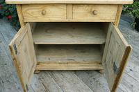 A Rare, Old Pine Sideboard/ Cupboard/ Desk/ Baby Changing Unit (9 of 11)