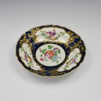 First Period Worcester Porcelain James Giles Lady Mary Wortley Montagu Soup Plate (7 of 8)