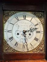 Small Georgian Antique 8 Day Thirsk Longcase Clock (3 of 8)