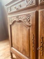 French Antique Rustic Cupboard / Normandy Buffet / Oak Sideboard (3 of 5)