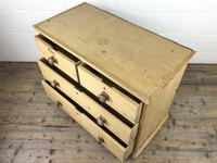 Small Victorian Antique Pine Chest of Drawers (12 of 15)