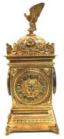 Good French Ormolu Cubed Classic 8 Day Striking Mantle Clock (4 of 11)