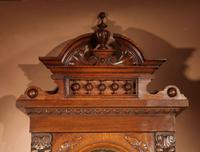 Impressive Black Forest Oak Grunderzeit Longcase Clock c.1910 (6 of 13)