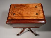 Extraordinarily Fine Regency Period Mahogany Tea Poy (9 of 9)