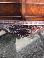 Antique Burr Walnut Display Cabinet (9 of 10)
