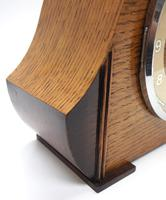 Art Deco Hat Shaped Mantel Clock – Striking 8-day Arched Top Mantle Clock (4 of 10)