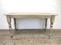 Vintage Pine Farmhouse Kitchen Table (6 of 9)