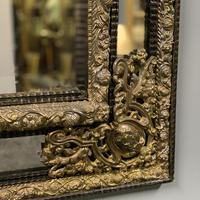 Large 19th Century French Repousse Mirror (6 of 7)