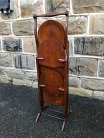 Antique Edwardian Inlaid Mahogany Stand (3 of 11)