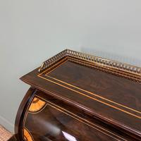Spectacular Quality Victorian Rosewood Inlaid Antique Writing Desk (5 of 12)