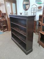 Antique Open Front Bookcase (6 of 6)