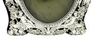 """Antique Victorian Sterling Silver 9"""" Photo Frame 1898 (4 of 11)"""