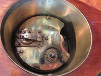 Edwardian Sheraton Teardrop Mantel Clock (4 of 6)