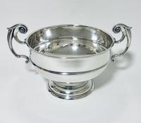 Large Antique Solid Silver Punch Bowl (4 of 12)