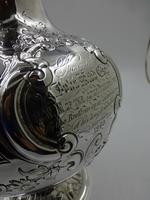 Fine Antique Victorian Silver Wine Jug. Birmingham 1859. (9 of 10)
