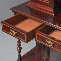 Victorian Inlaid Mahogany Side Cabinet by Gillows (5 of 13)
