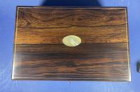 William IV Pewter Inlaid Rosewood Box (3 of 18)
