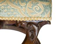19th Century Rosewood X-framed Stool c.1830 (7 of 7)