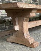 Huge French Bleached Oak Farmhouse Refectory Dining Table (4 of 11)