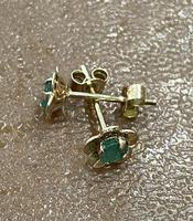 Pair of 9ct & Emerald Earrings 1979 (3 of 3)