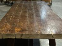 Huge Rustic French Oak Farmhouse Dining Table (7 of 35)