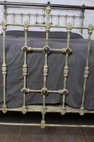 Lovely Individual Victorian Brass & Iron King Size Bed (13 of 13)