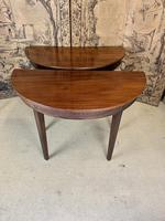 Pair of 19th Century Mahogany Console Tables with Carved Decoration (8 of 8)