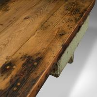 Large Antique Silversmith's Table, English, Pine, Industrial, Bench, Victorian (10 of 12)