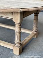 Bleached Oak Drop Flap Coffee Table (14 of 17)