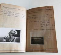 1950's Hand Written  Flying Log Book  with Photographs (7 of 7)