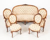 Victorian Rosewood Parlour Suite