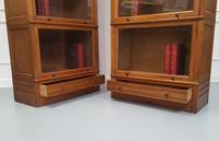 Paris Made Oak Stacking Bookcases / Haberdasheries c.1930 (3 of 7)