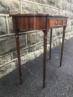 Quality Mahogany Hall Console Table (3 of 7)