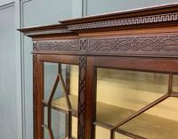 Carved Mahogany Display Cabinet by Warings (6 of 19)