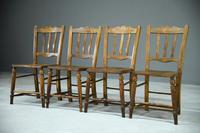 Set of 4 Rustic Kitchen Chairs (6 of 7)