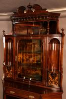 Rosewood Corner Display Cabinet by Gillows (12 of 14)