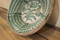 "Large Late 18th Century Spanish Granada Fajalouza ""Lebrillo"" Bowl (7 of 11)"