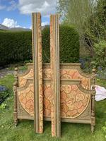 Gilded & Painted French Double Bed (7 of 7)