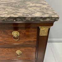 French Empire Commode with Gilt Lions Paw Feet (3 of 10)