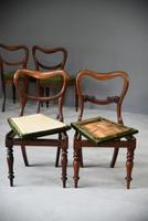 6 Harlequin Victorian Rosewood Dining Chairs (10 of 11)