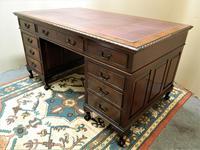 Mahogany Pedestal Desk (7 of 7)