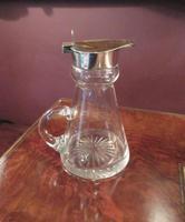 Antique Silver Whisky Noggin Decanter (6 of 6)